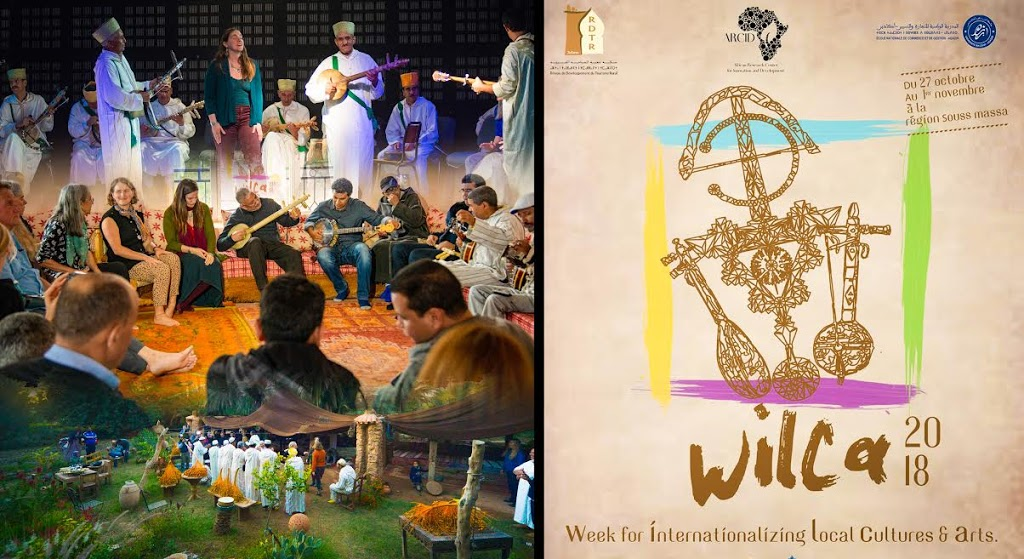 Photo of WILCA, a Crossroad of Internationalization of Cultures and Local Arts, in its First Edition in The Region of Souss Massa